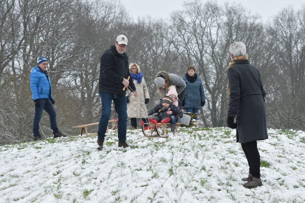 Daolertuun Sneeuw Sneeuwpret Winter Slee