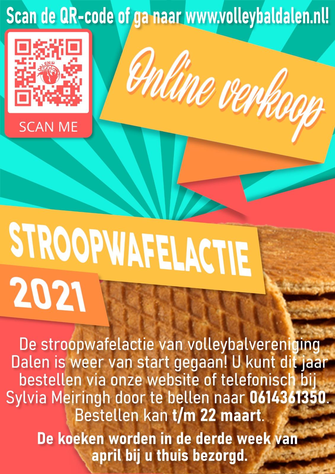 Online verkoop stroopwafels