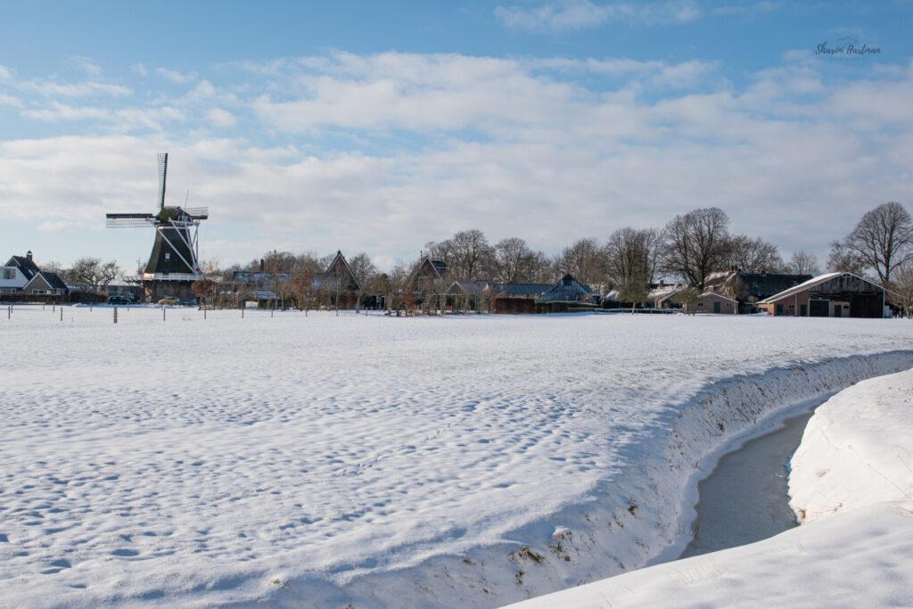 Sneeuw Dalen Bentermolen