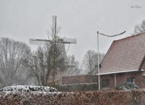 Sneeuwjacht Sneeuw Dalen Jan Pol Molen
