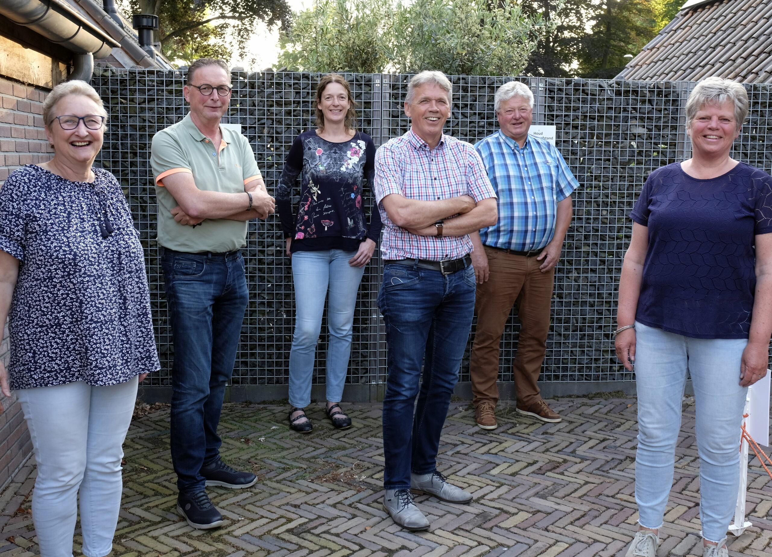 Foto van de leden van de Daler  AED-werkgroep