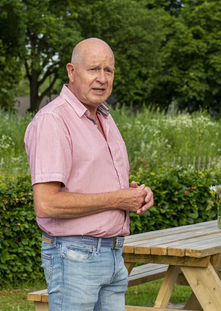 voorzitter Henk Nijkamp Aold Daoln
