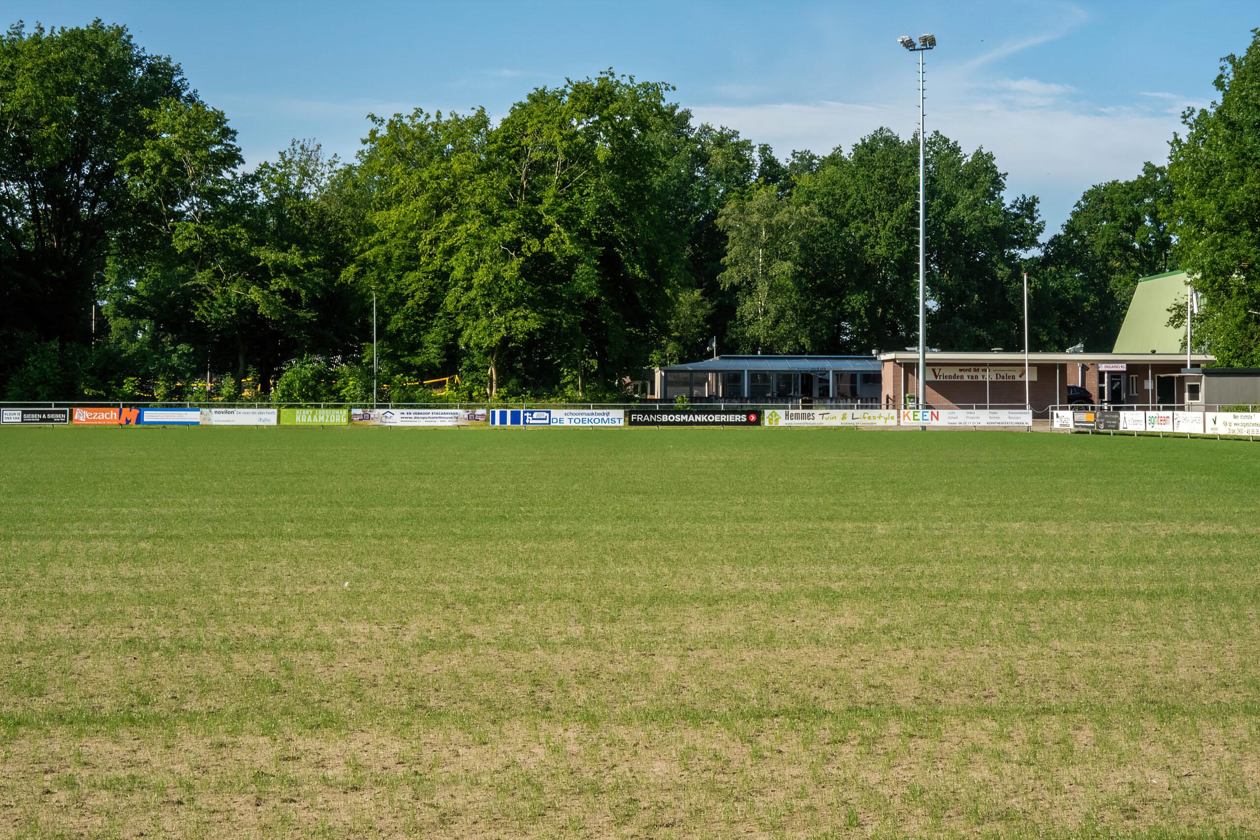 Renovatie voetbalvelden Grootveld