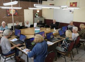 """De Computer Club Dalen is het seizoen 2021-2022 weer begonnen in """"de Kluis"""" (achter café d'Oalle Bakkerij in Dalen)."""