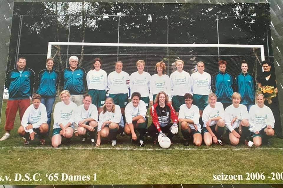 Foto Dames DSC voetbal