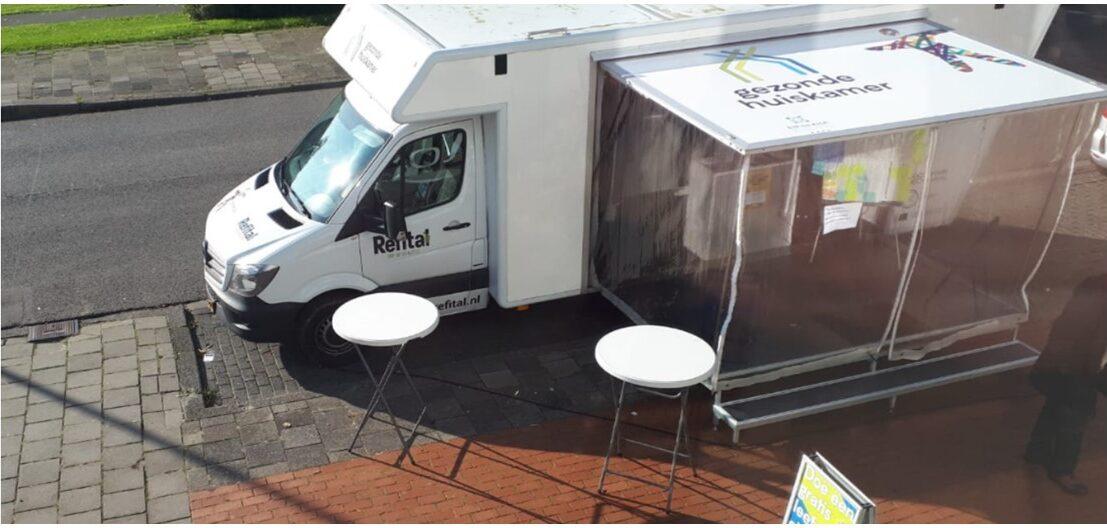 Foto vrachtwagen De Gezonde Huiskamer