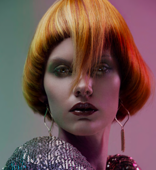 Foto kapsel coiffure award Manou Grijsen