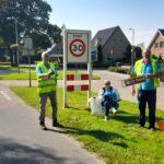 Foto Werkgroep Veiligheid Verkeer Vervoer bij snelheidsmeting